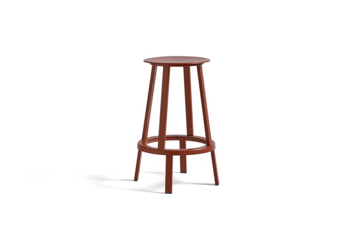 Hay Revolver Bar Stool Low 65 Red