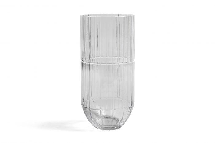 Colour vase XL transparant