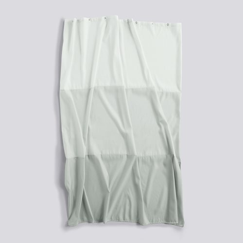 Shower curtain aquarelle eucalyptus horizontal