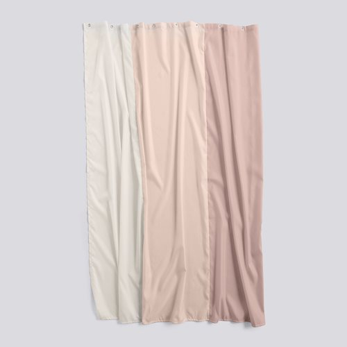 Shower curtain aquarelle rose vertical