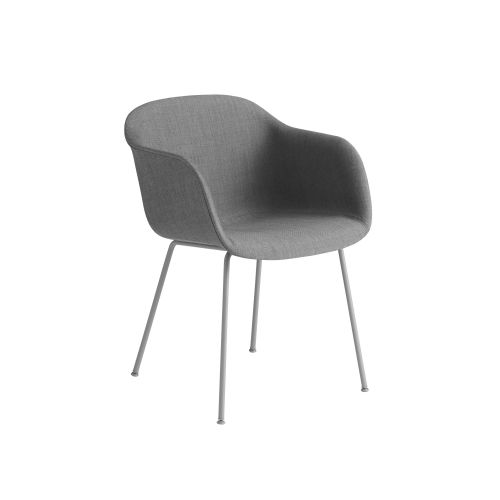 Muuto Fiber Armchair Tube Base Remix133/Grey
