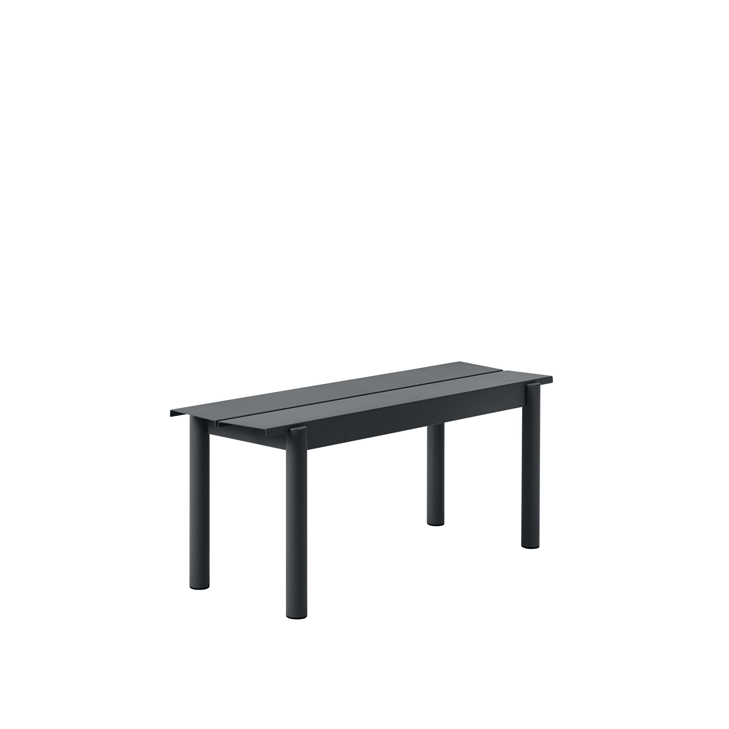 Muuto Linear Steel Bench 110 Black
