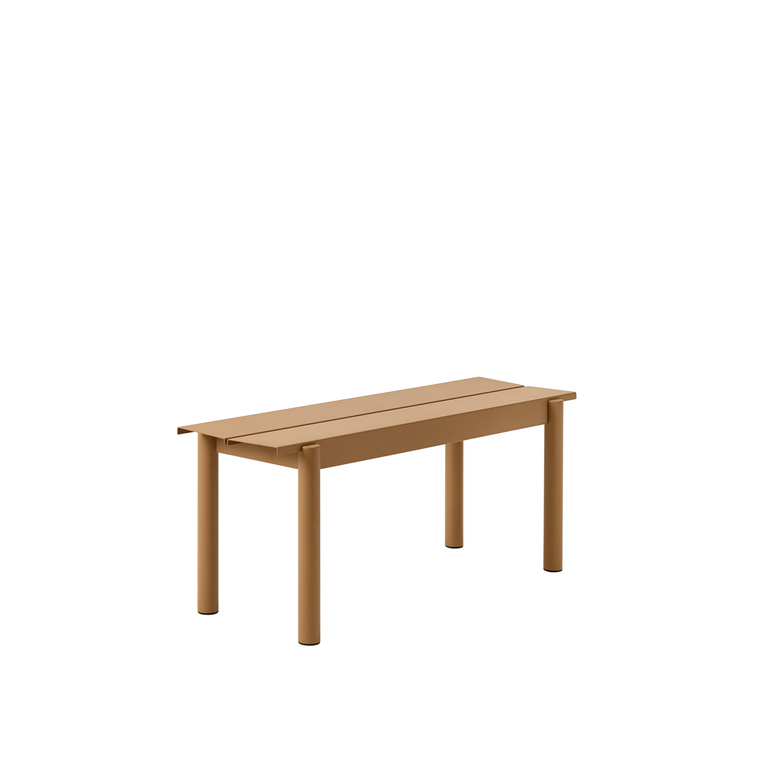 Muuto Linear Steel Bench 110 Burnt Orange