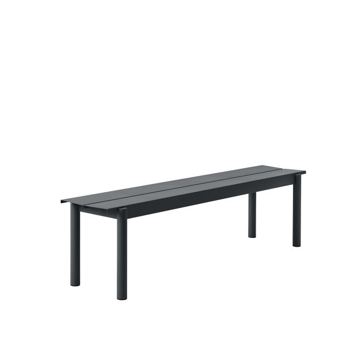 Muuto Linear Steel Bench 170 Black