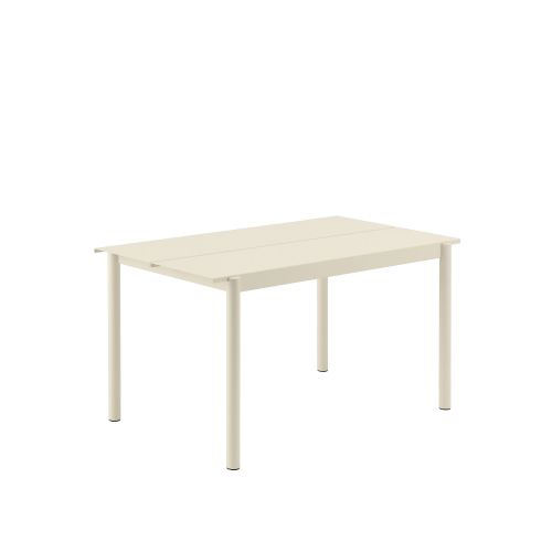 Muuto Linear Steel Table 140 Off-white