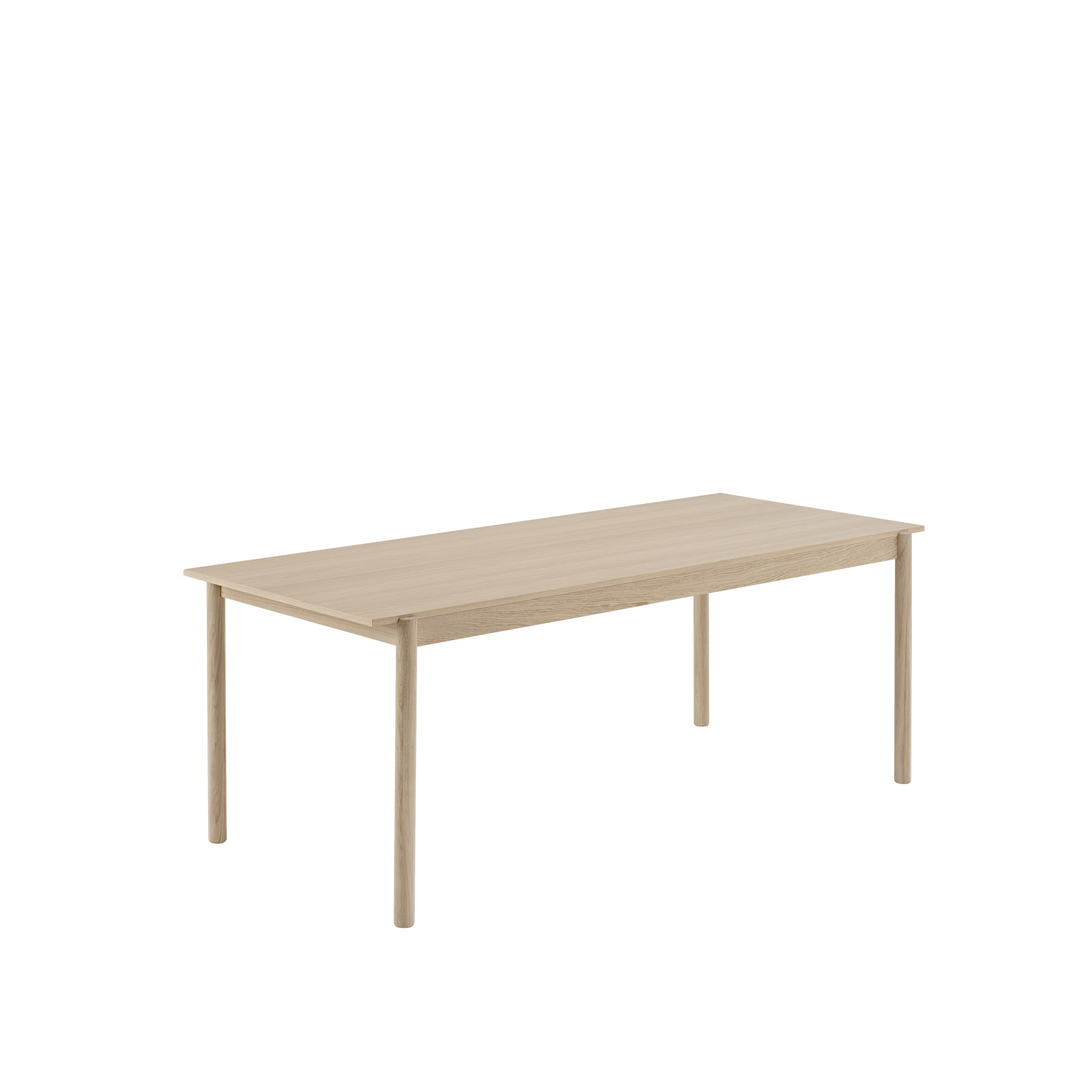 Linear Wood Table 200