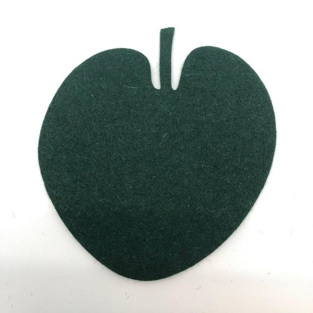 Onderzetter blad lotus fir green 44