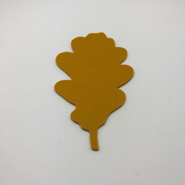 Onderzetter blad oak curry 23