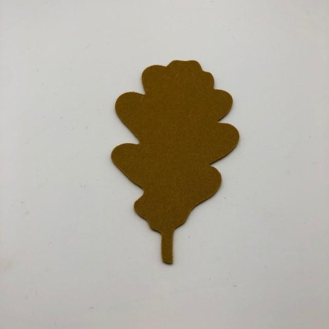 Onderzetter blad oak mustard 96