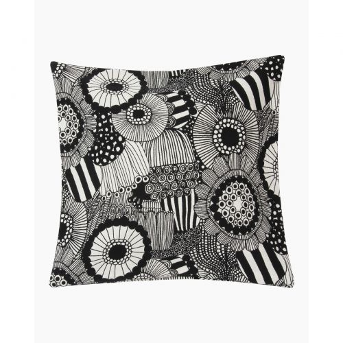 Pieni Siirtolapuutarha cushion cover 50x50 black