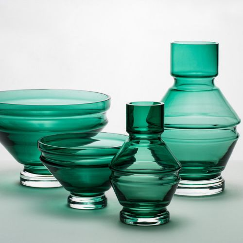 Raawii Relae Vase Bristol Green small
