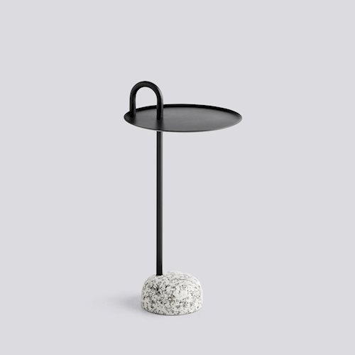 Hay Bowler Table Black