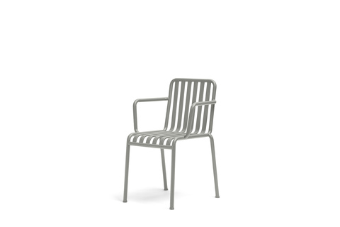 Hay Palissade Arm Chair Sky Grey