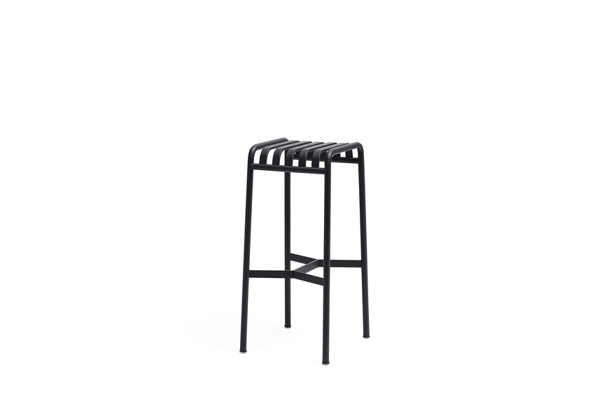 Hay Palissade Bar Stool Anthracite