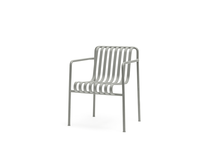 Hay Palissade Dining Arm Chair Sky Grey