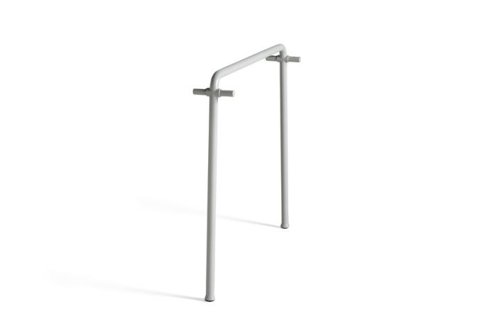 Hay Palissade Table Middle Leg Sky Grey