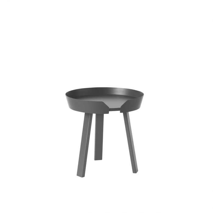 Around coffee table small anthracite