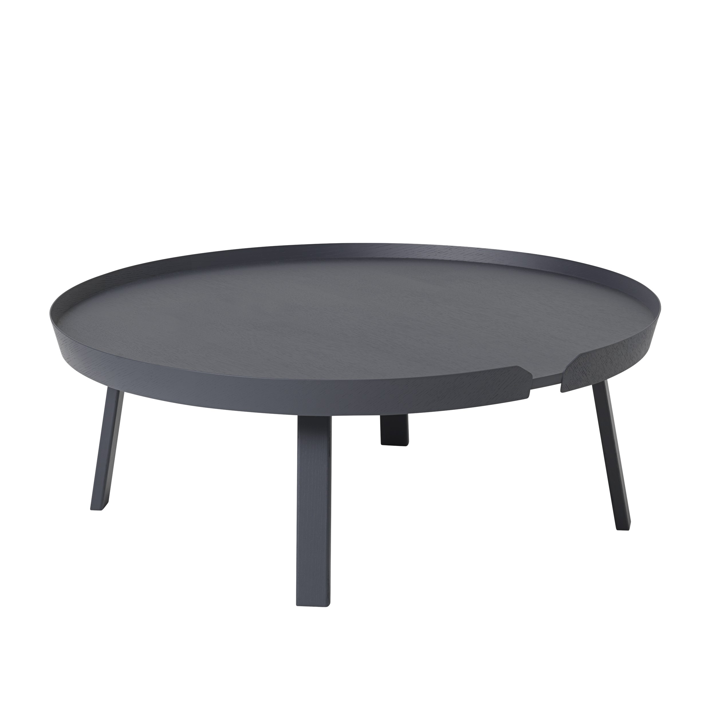 Around coffee table extra large anthracite