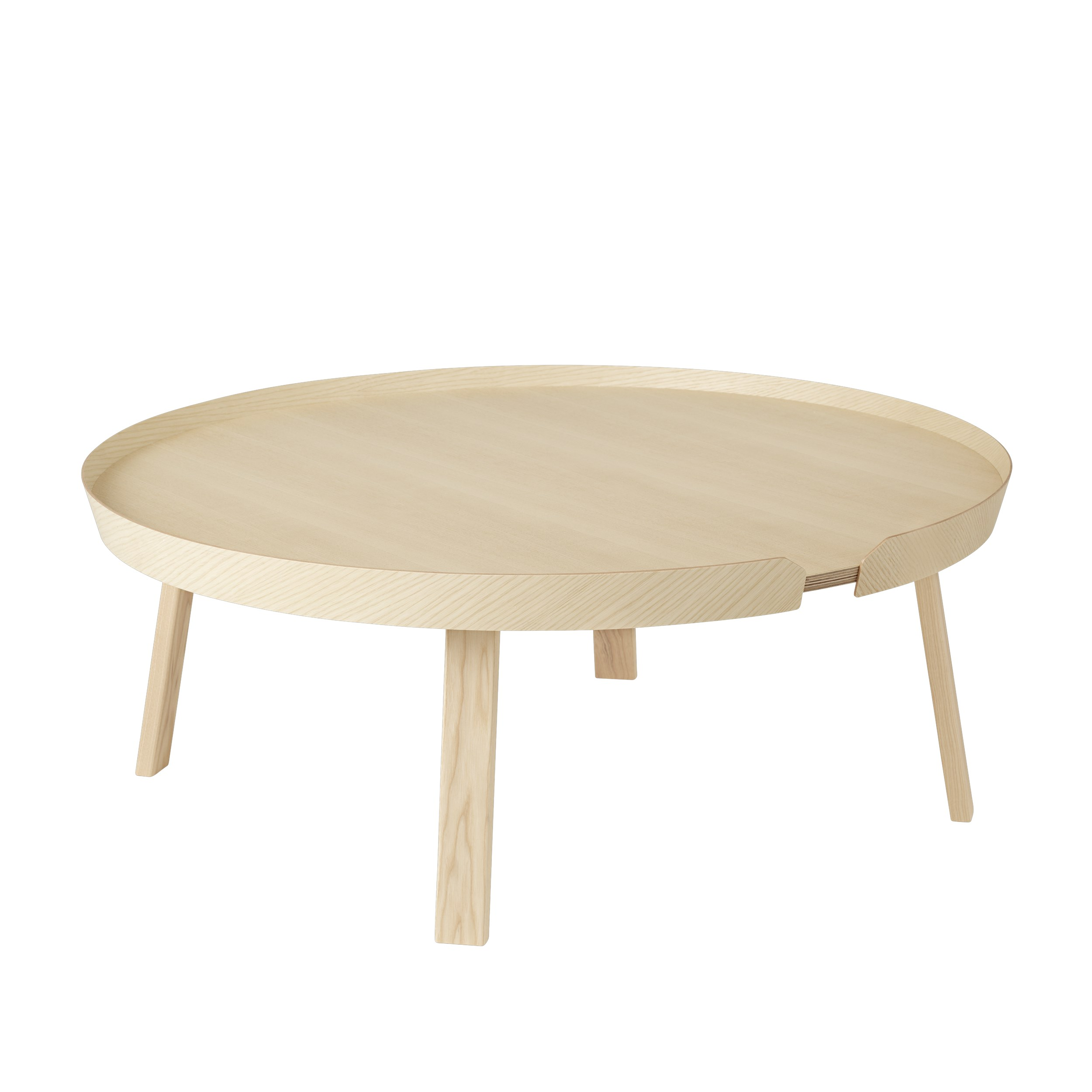 Around coffee table extra large ash