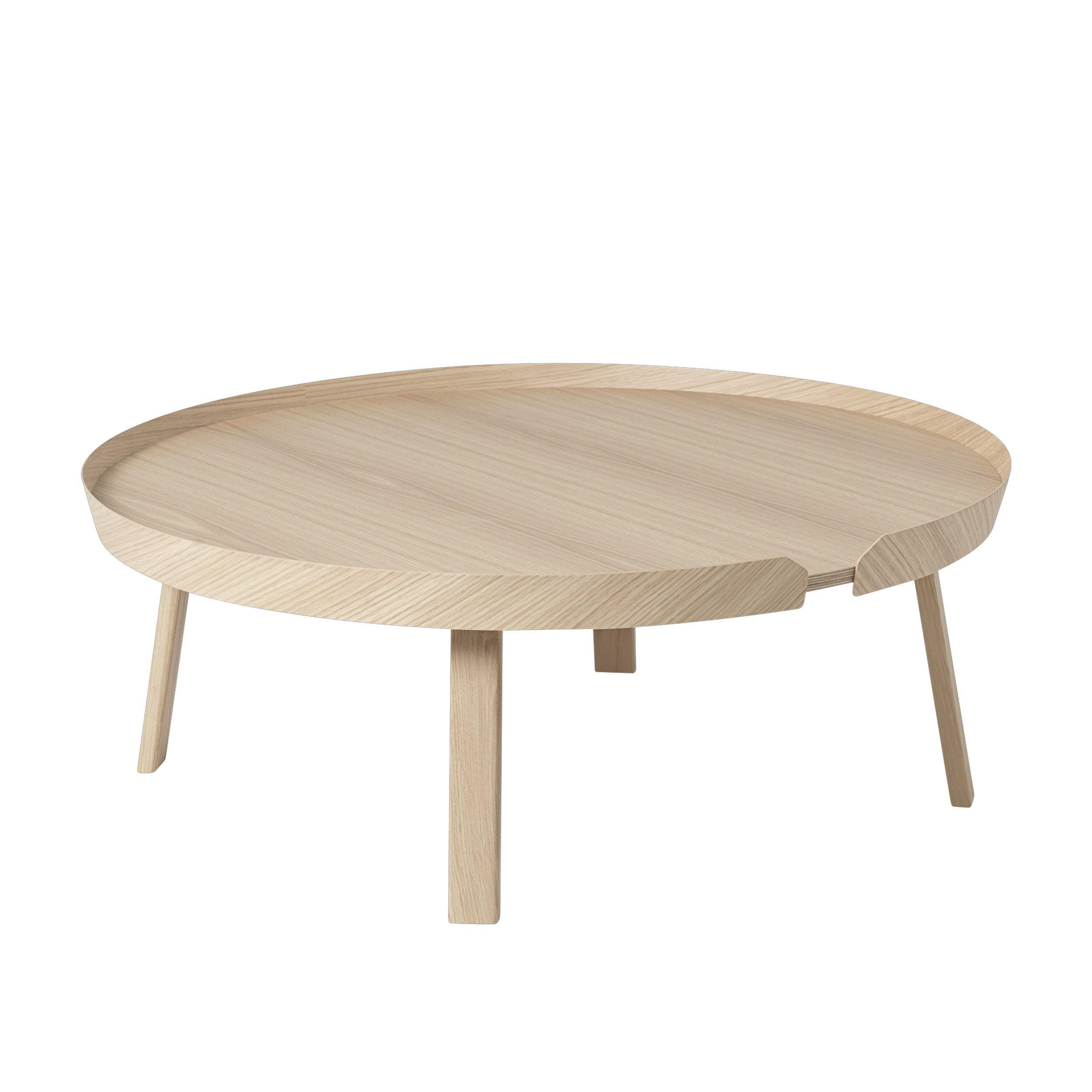 Around coffee table extra large oak