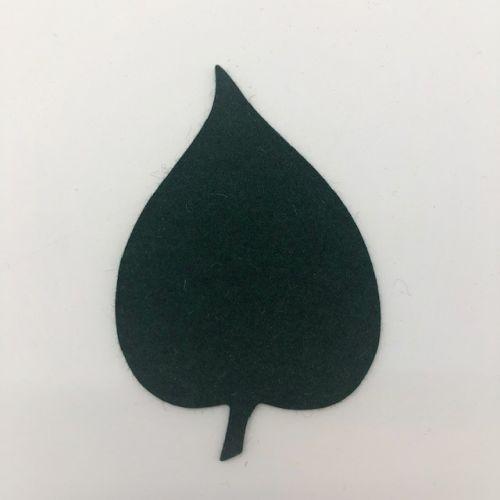 Onderzetter blad linden fir green 44