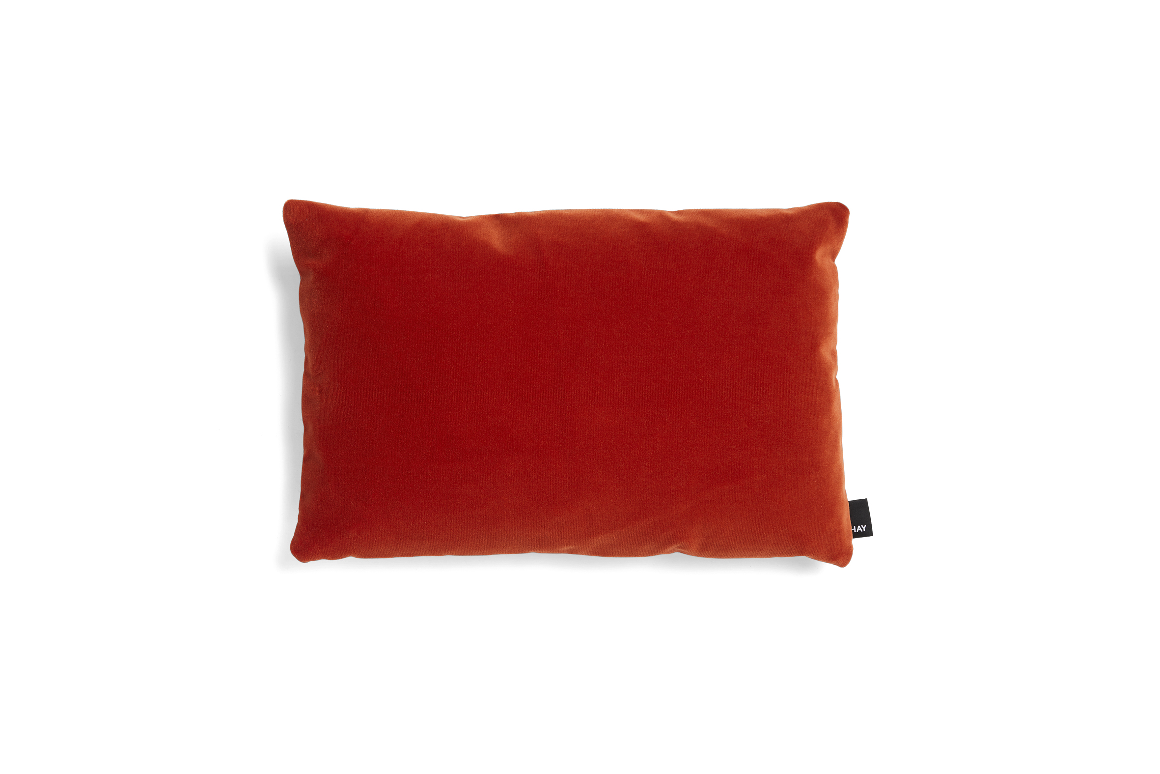 Eclectic cushion 45x30 vibrant red