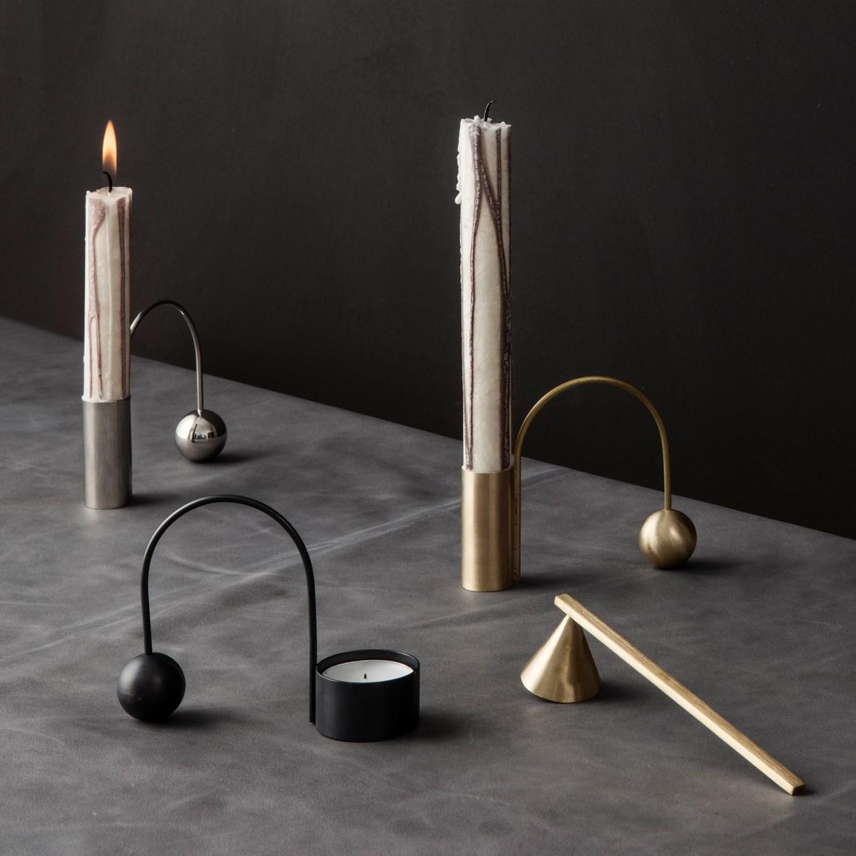 Ferm Living Balance Candle Holder Brass
