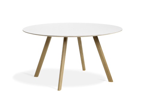 Hay CPH25 Table Round 140 White Laminate/Clear
