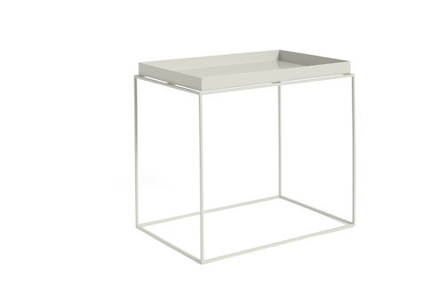 Hay Tary Table Side Table L Warm Grey
