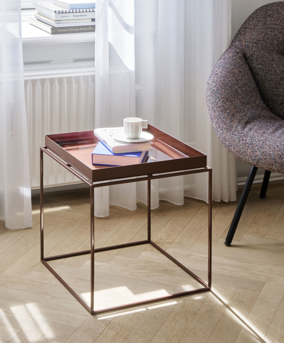 Hay Tray Table Side Table M Toffee