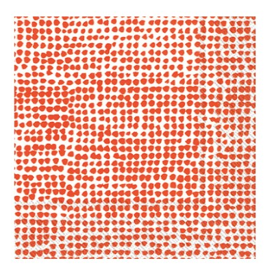 Orkanen white/red lunch napkin