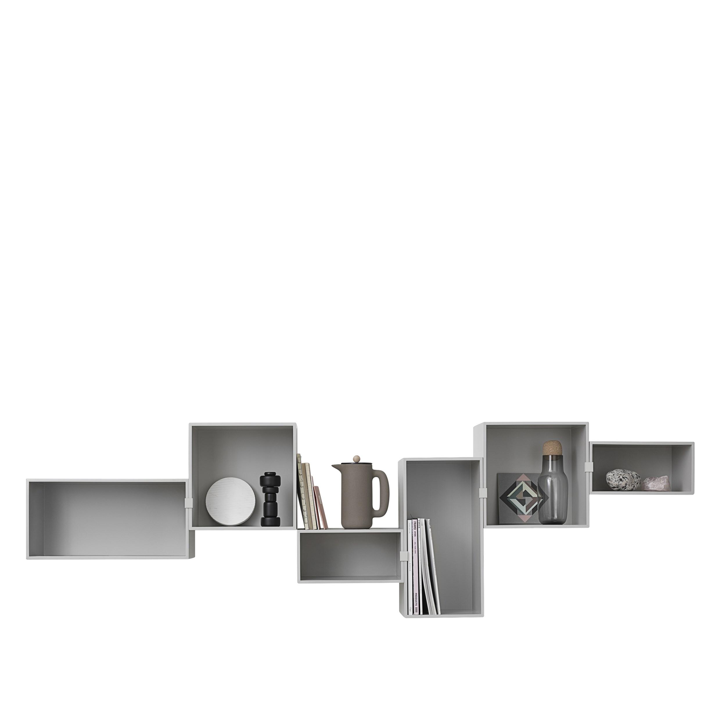 Mini stacked 2.0 large light grey