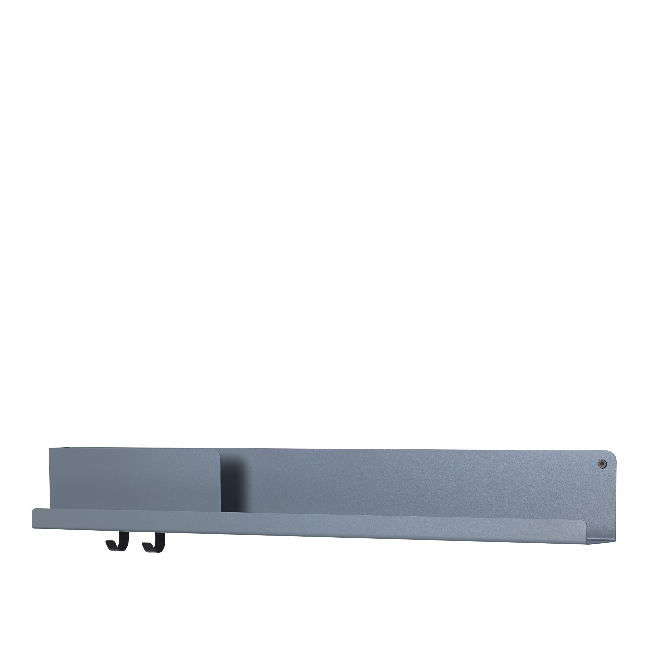 Muuto Folded Shelf Large blue-grey 96cm