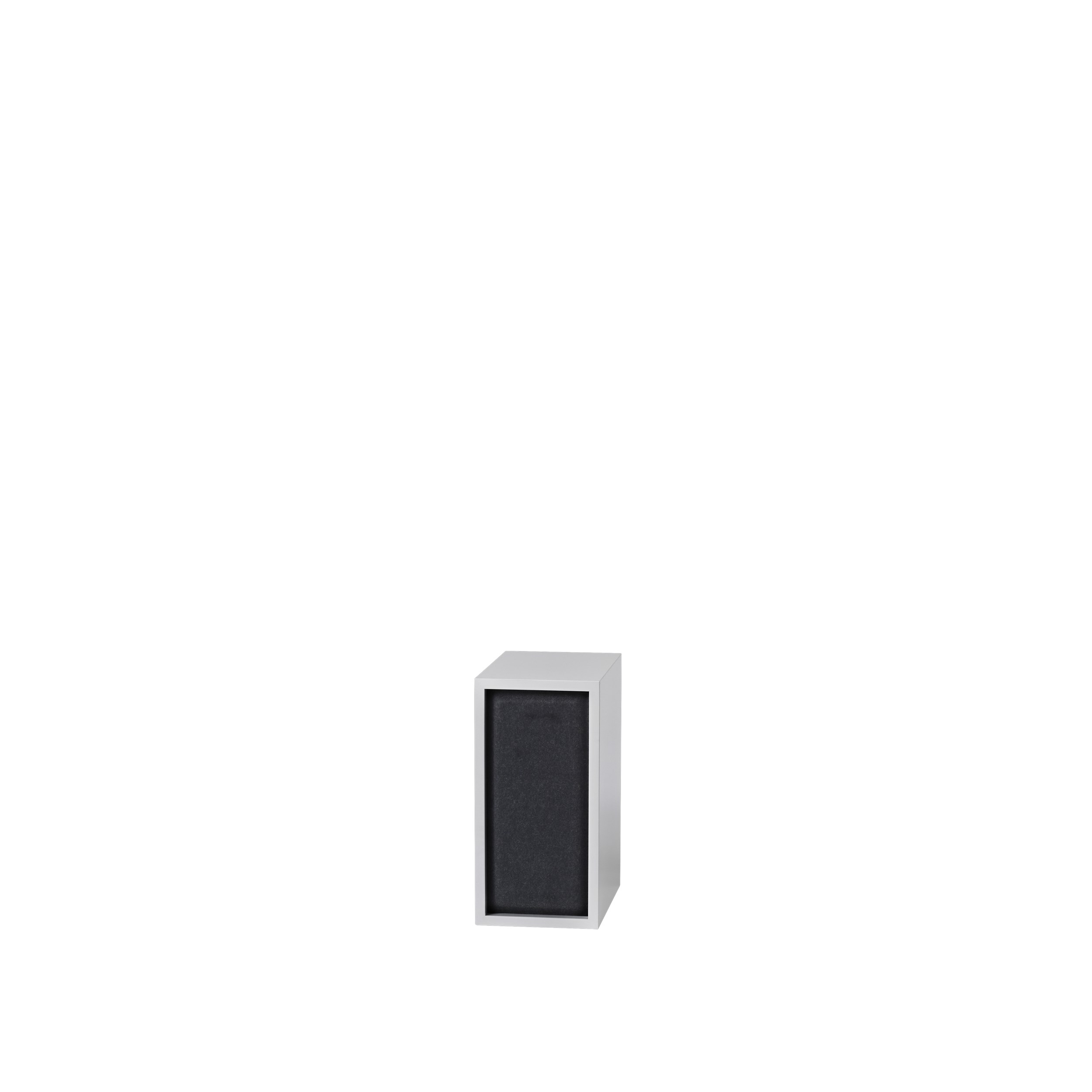 Stacked 2.0 acoustic panel small black