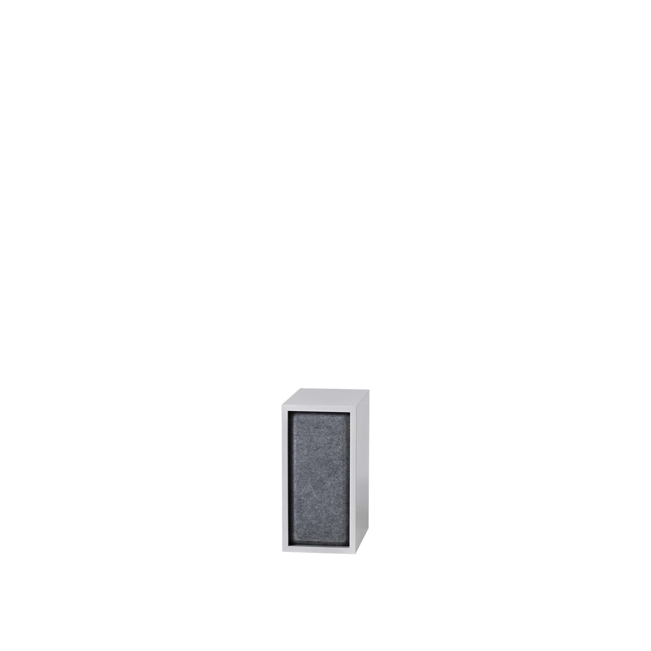 Stacked 2.0 acoustic panel small grey