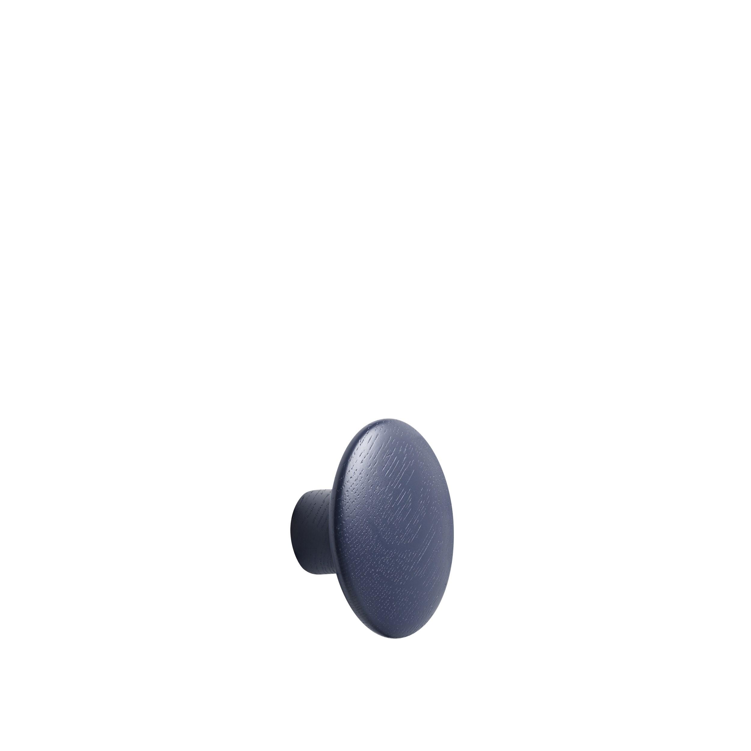 Dot wood small Ø 9 cm midnight blue