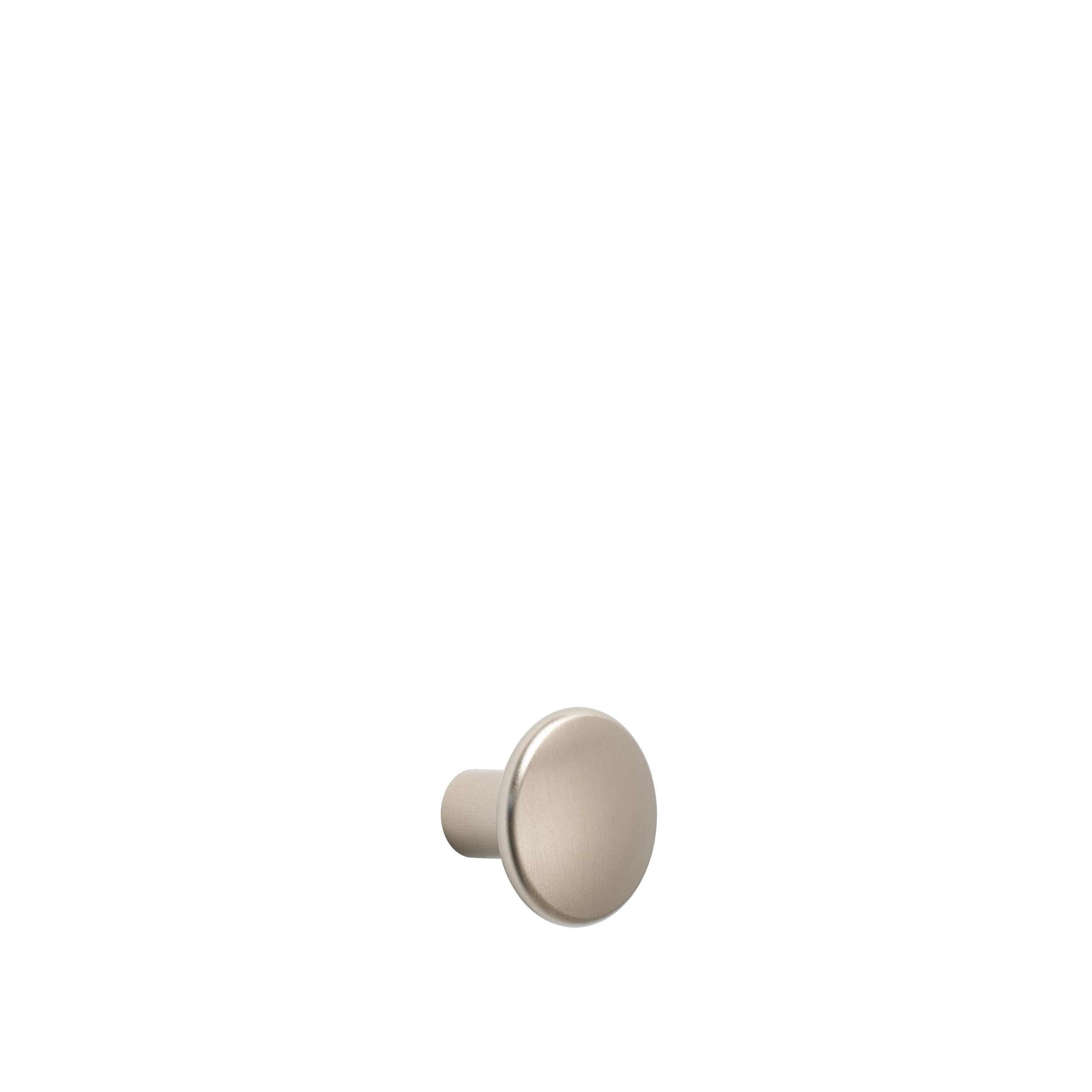 Dots metal small Ø 2,7 cm taupe
