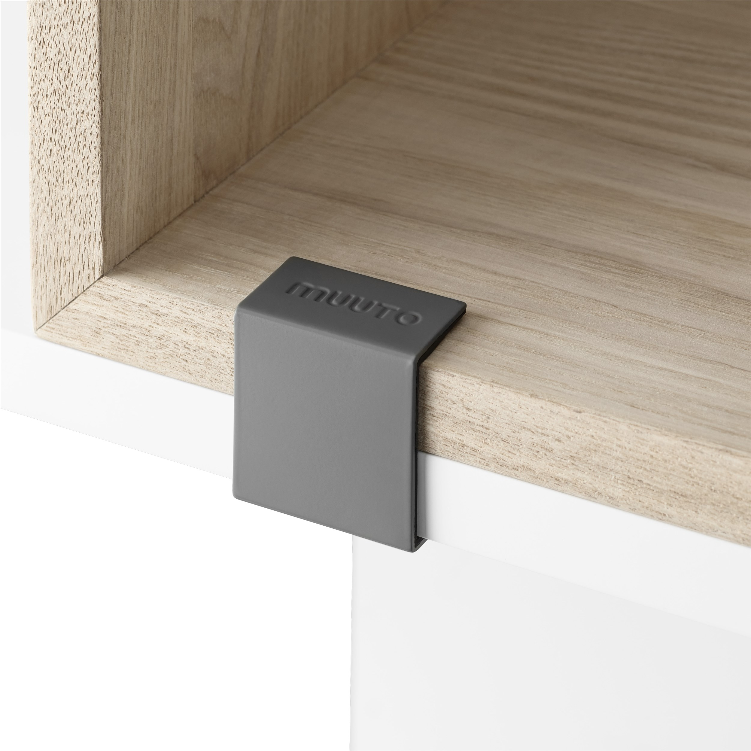 Muuto Stacked 2.0 Clips 5-pack Grey