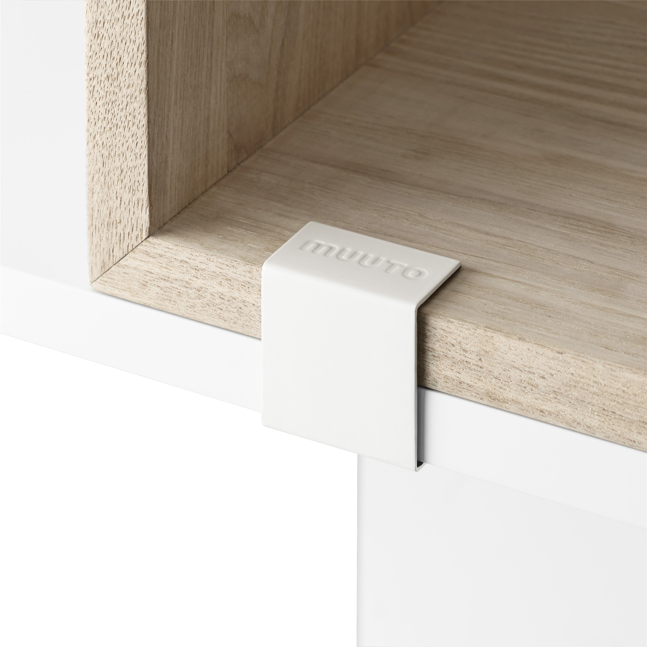Muuto Stacked 2.0 Clips 5-pack White