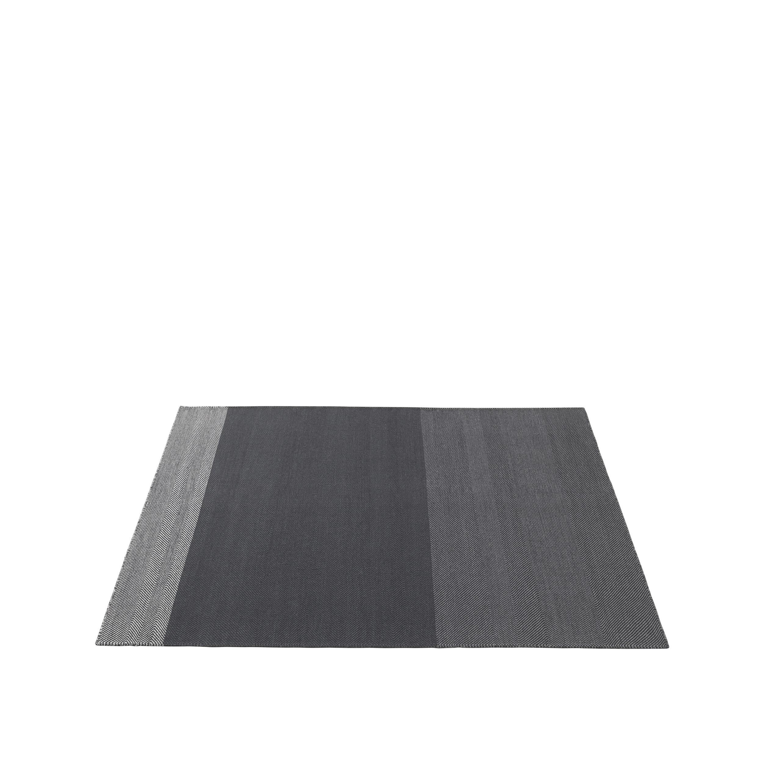 Varjo rug 170 x 240 dark grey