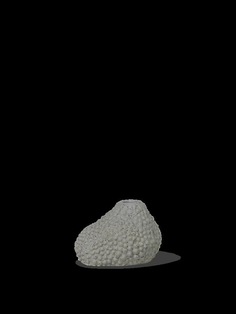 Vulca mini vase grey dots