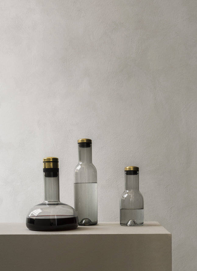 Menu Bottle 0,5L Clear/Brass