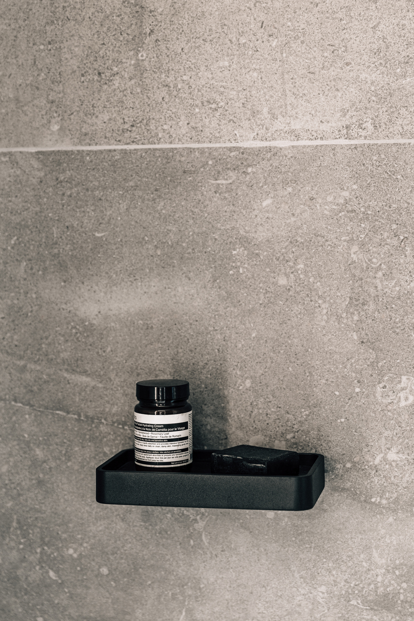 Menu Shower Tray Black