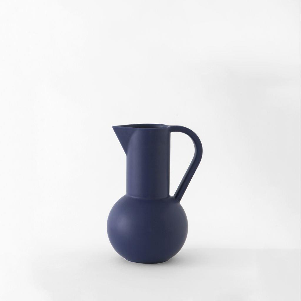 Raawii Small Jug Strøm Blue