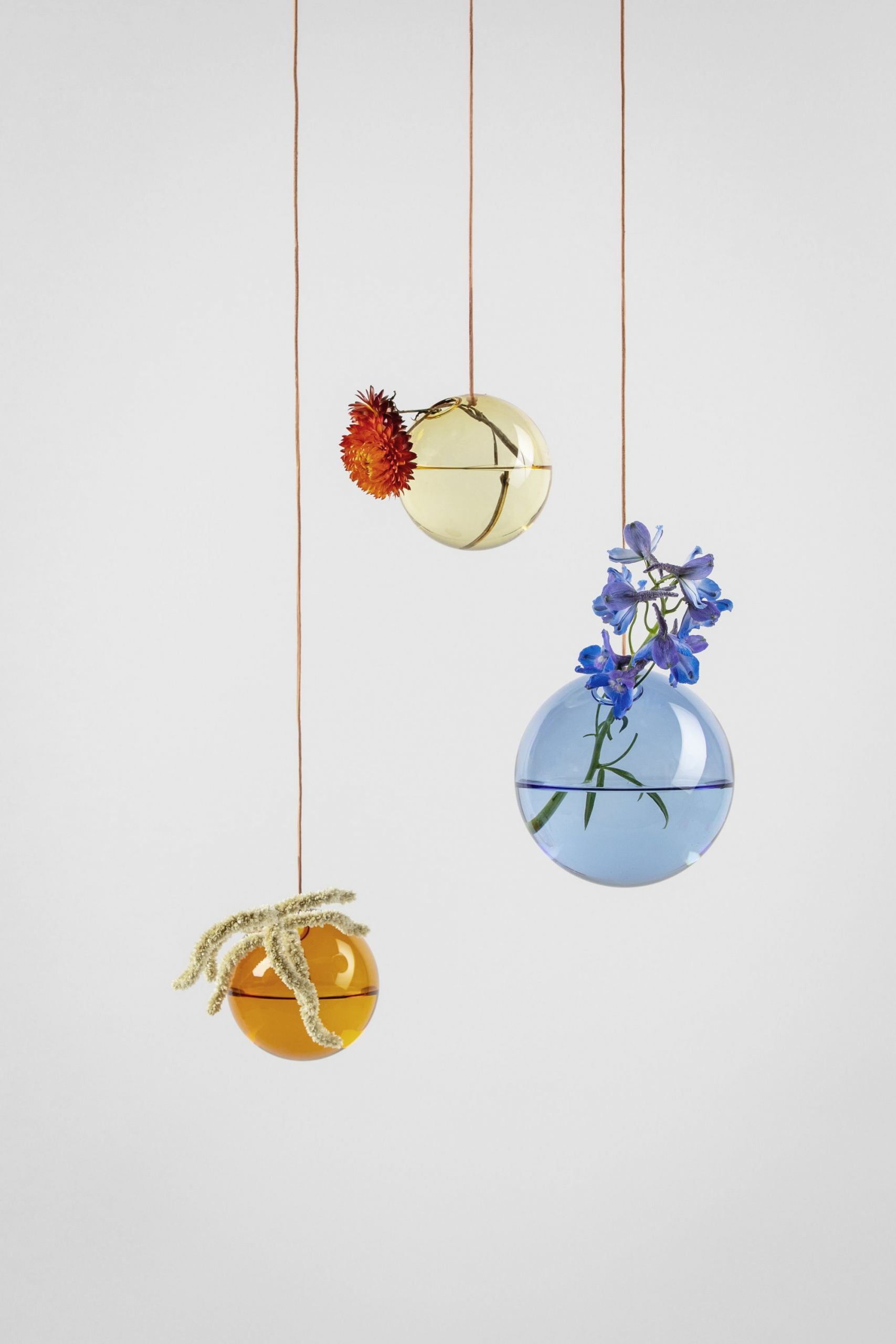 Studio About Bubble Hanging Vase S Blue