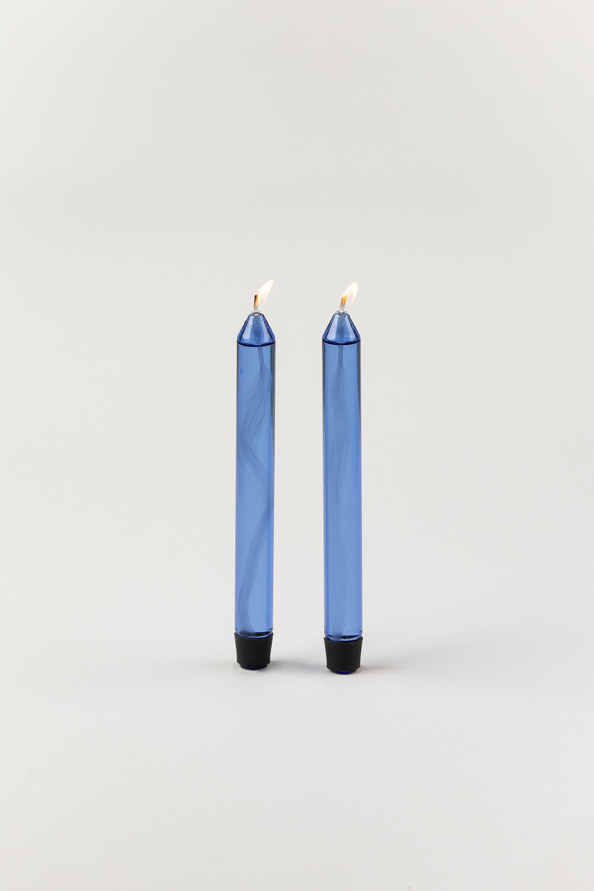 Studio About Candle Glass Candle Oil Blue 2-pack