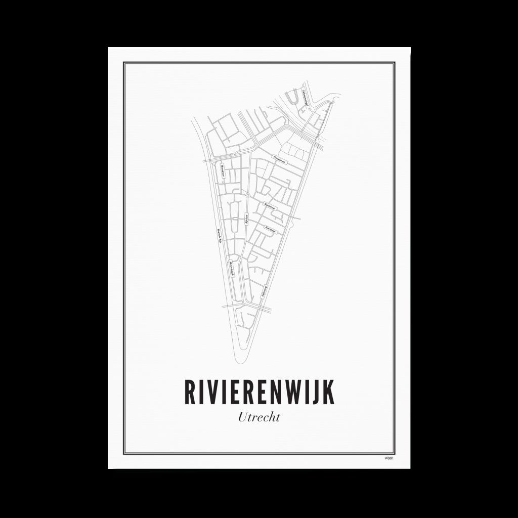 Utrecht Rivierenwijk ansichtkaart