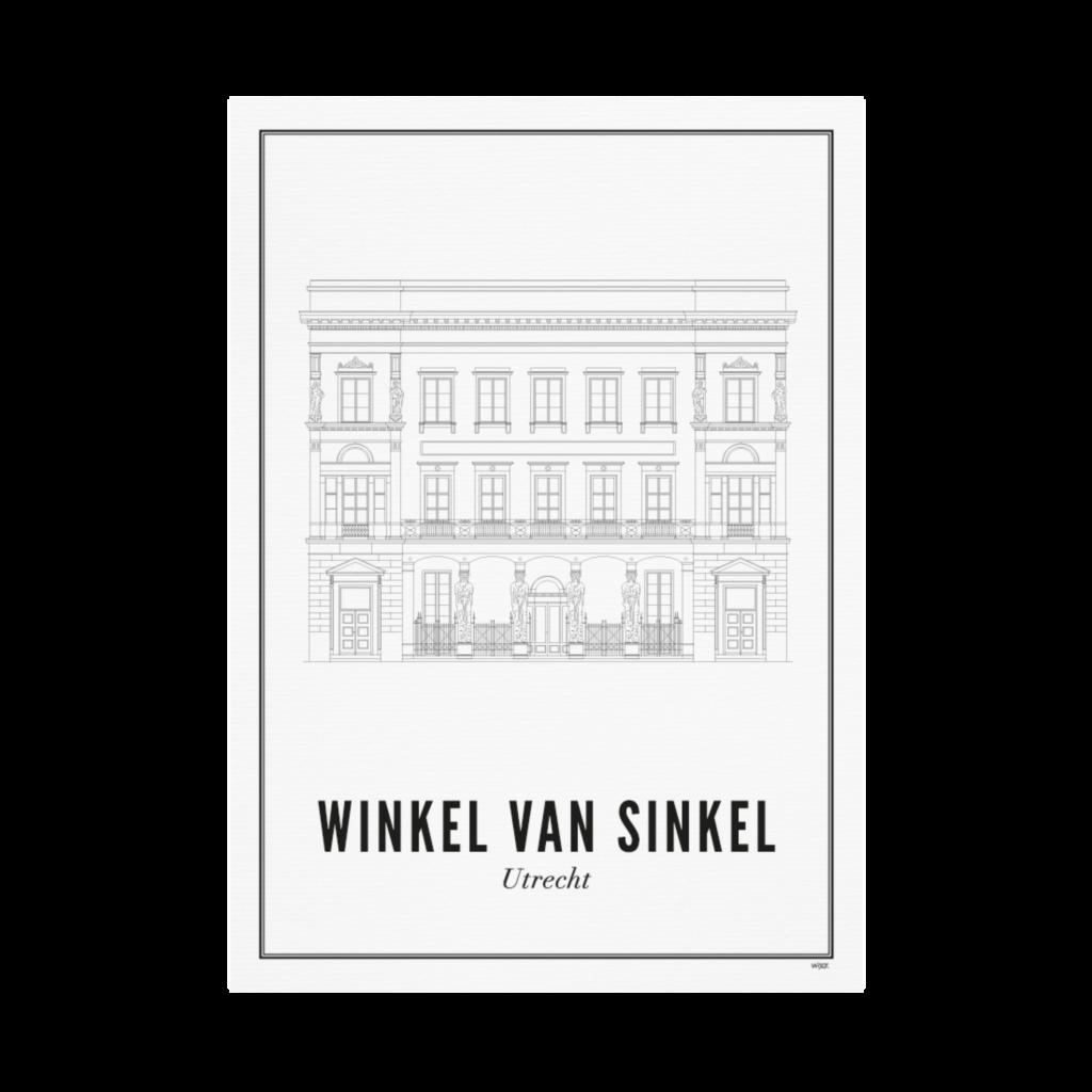 Utrecht Winkel van Sinkel ansichtkaart