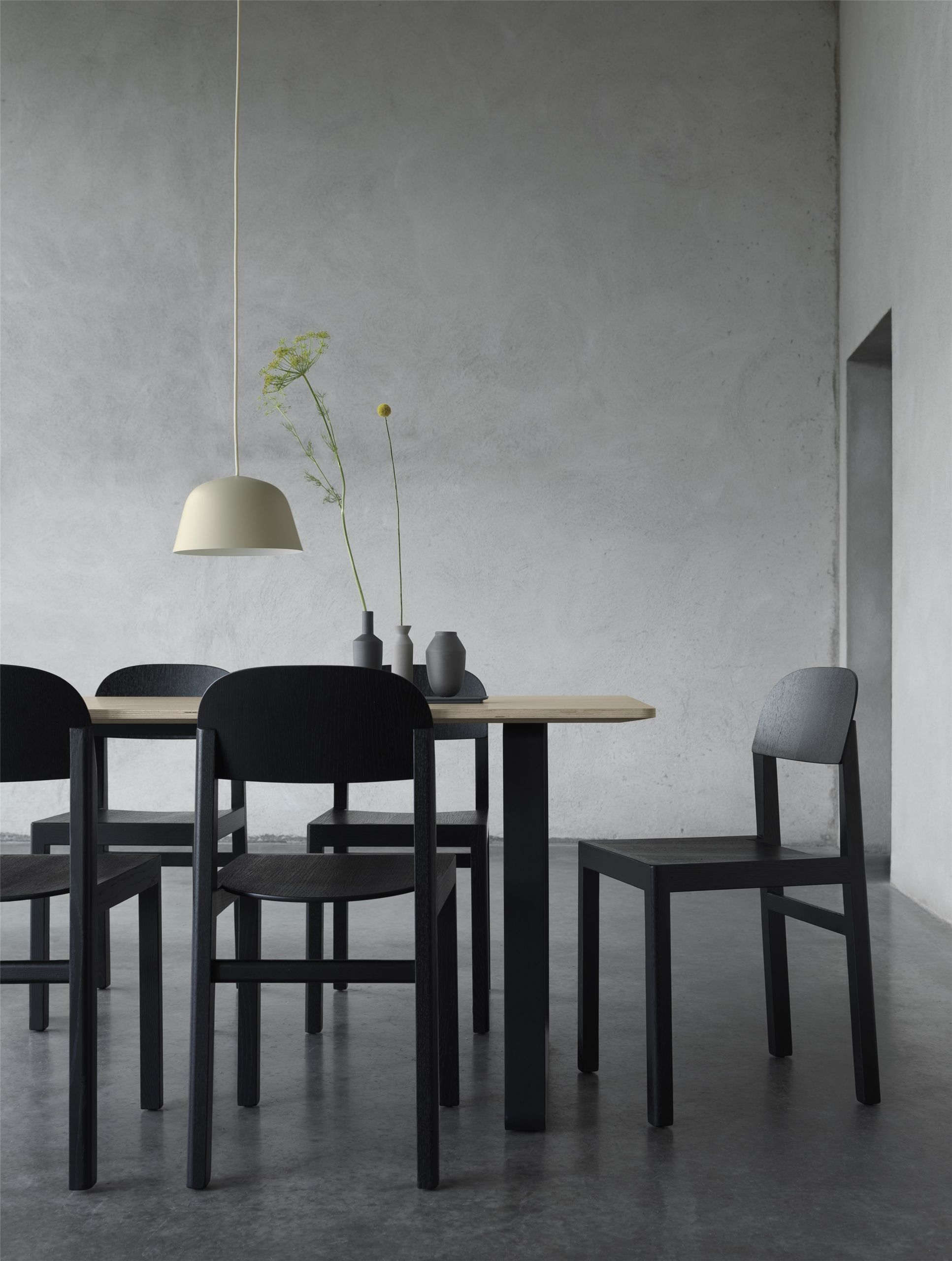 Muuto 70/70 Table 225x90 Grey Limoleum