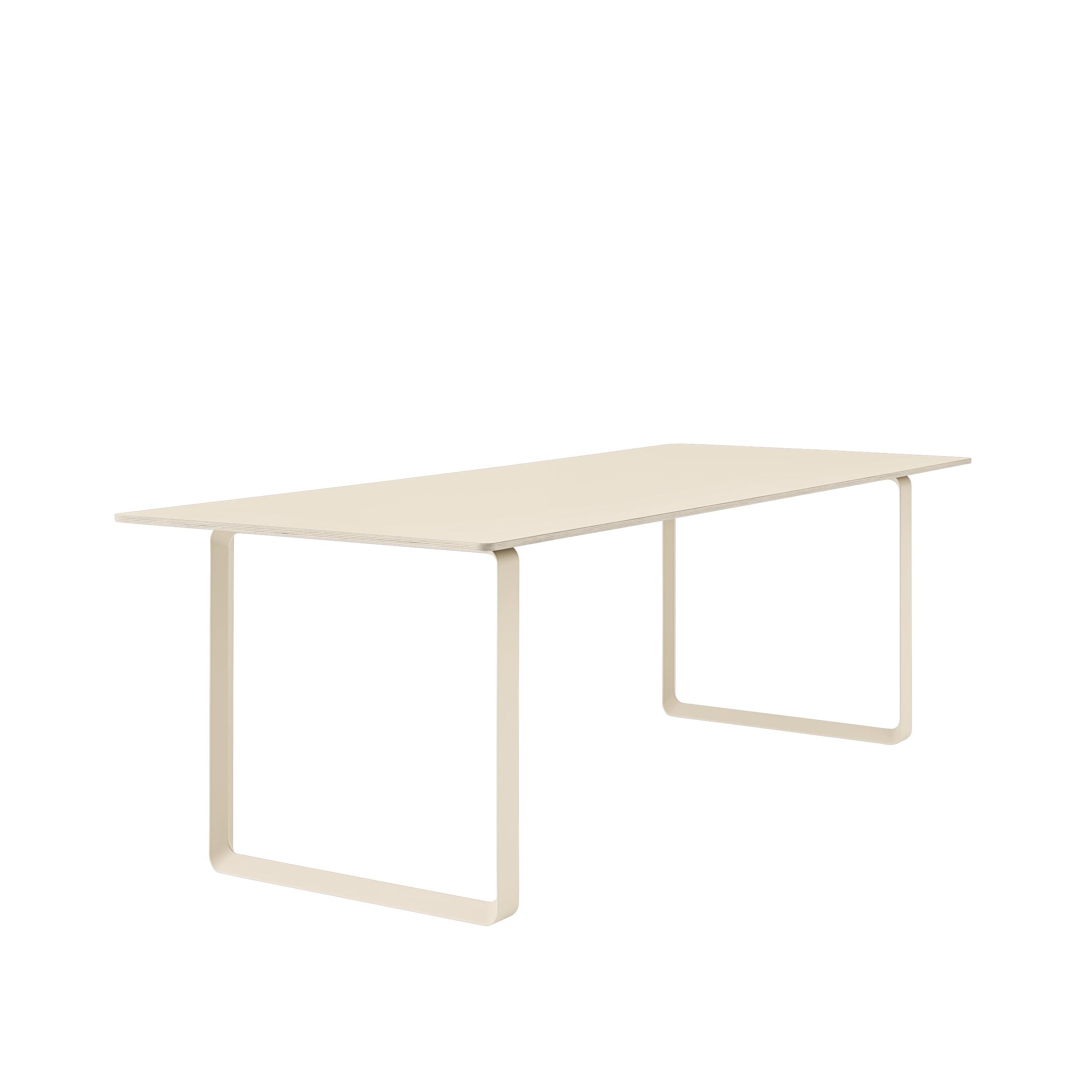 Muuto 70/70 Table 225x90 Sand Laminate